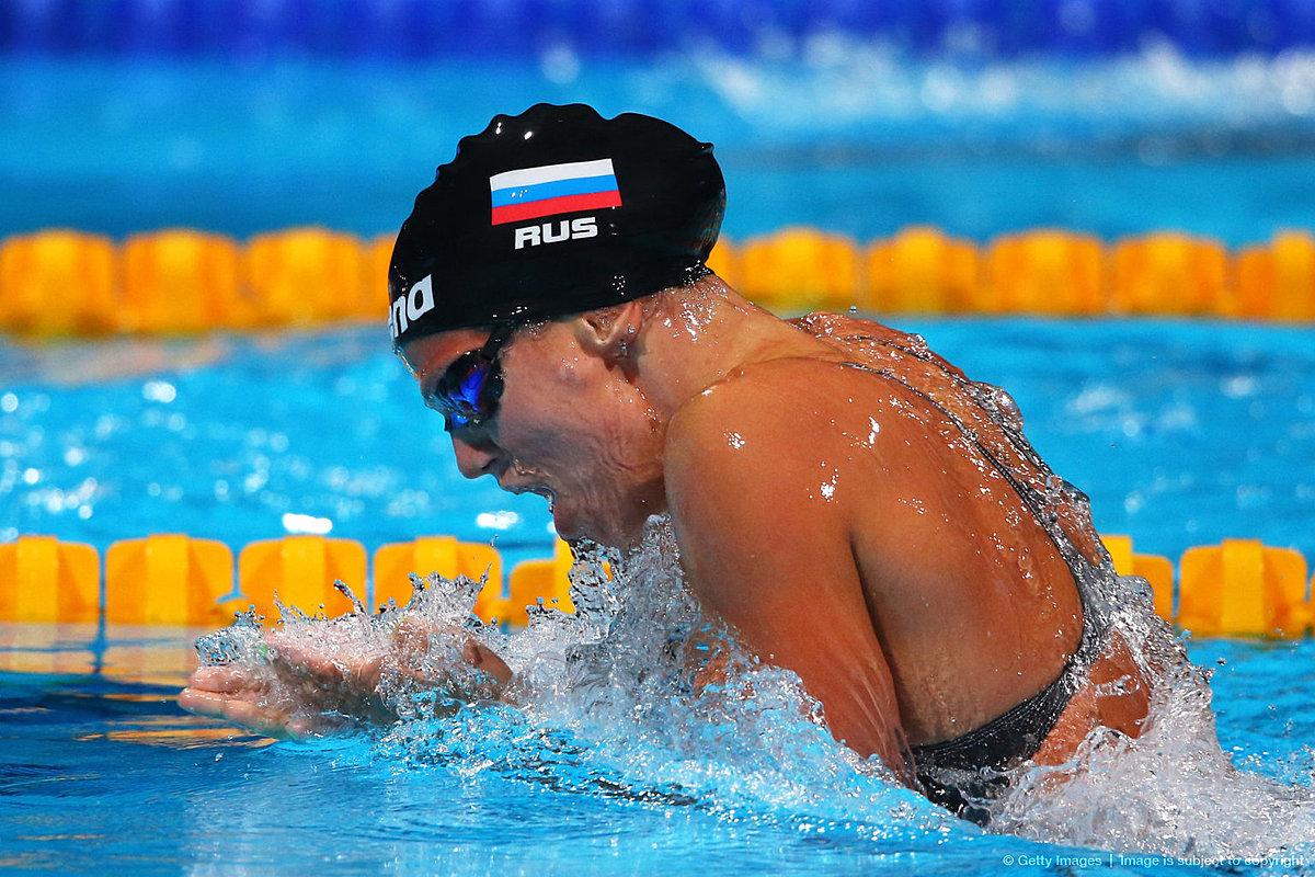 Спортсмен пловец картинка