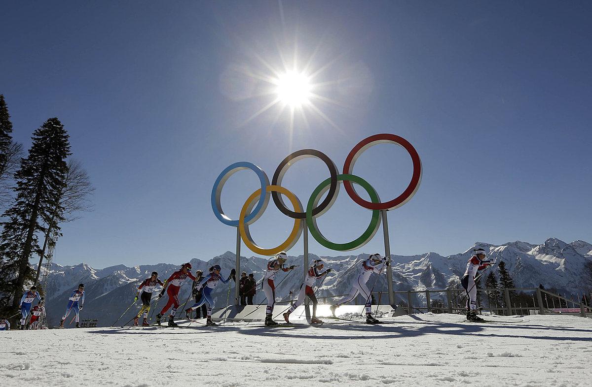 Зимняя олимпиада в картинках