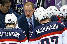 Олимпиада в Сочи-2014 (Olympic Winter Games, Sochi): Bylsma back with Penguins after Sochi struggles