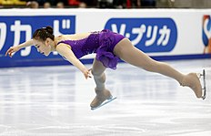 South Korea's Park So-youn performs during the ladies short program at the Rostelecom Cup ISU Grand Prix of Figure Skating in Moscow