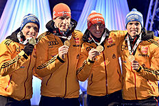 IBU Biathlon World Championships � Men's Relay
