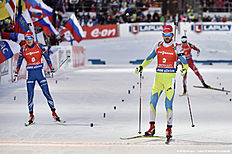 IBU Biathlon World Championships � Men's and Women's Mass Start