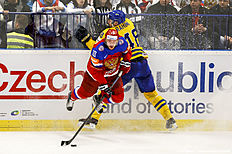 ������ � ������: Sweden v Russia � 2015 IIHF Ice Hockey World Championship Quarter Final