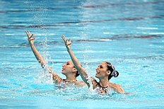 Synchronised Swimming � 16th FINA World Championships: Day Four