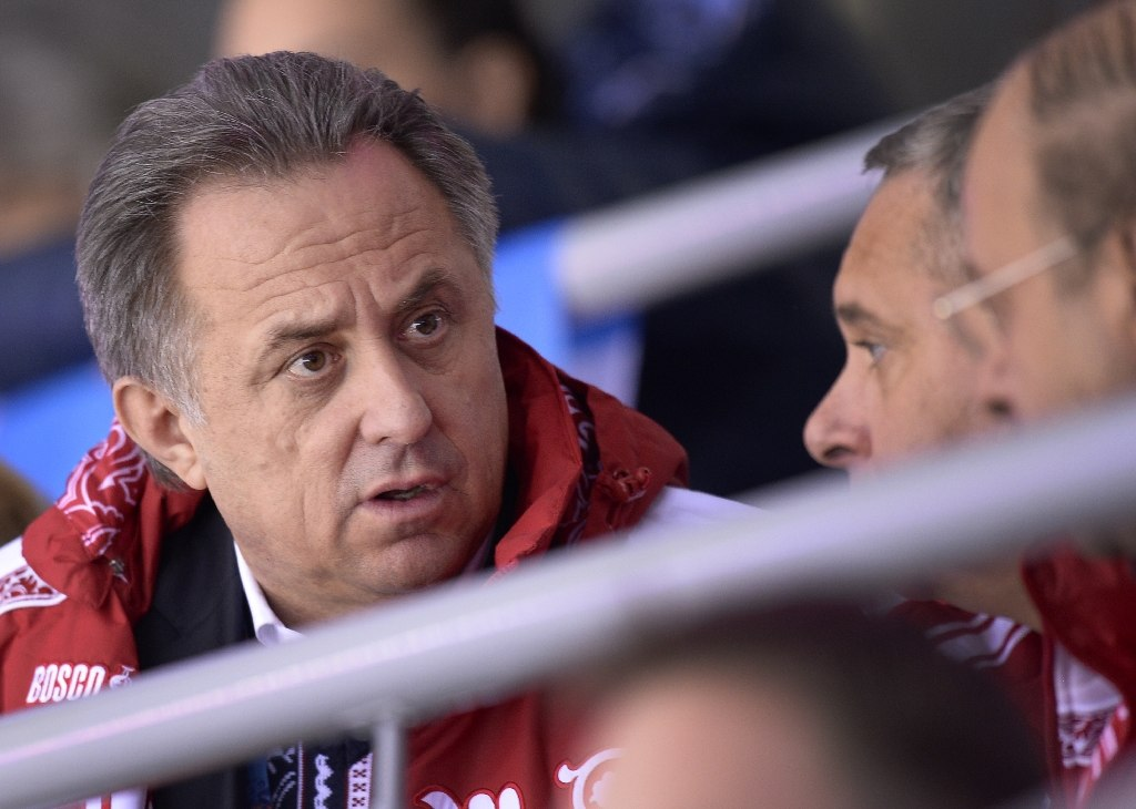 Russia's sports minister Vitaly Mutko (pictured) on Sunday фото (photo)