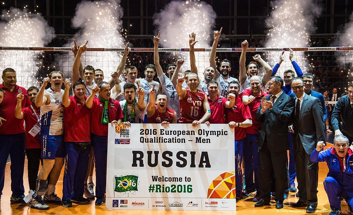 VOLLEYBALL-OLY-QUALIFIER-FRA-RUS