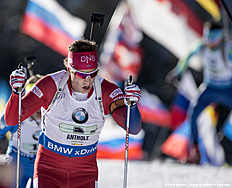 ANTHOLZ-ANTERSELVA, ITALY � JANUARY 24: Jon Helge Birkeland of Norway in action during the Biathlon Men 4x7,5 km Relay at the IBU Biathlon World Cup Antholtz on January 24, 2016 in Antholtz, Italy.