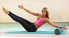 Fitness and alignment expert Lauren Roxburgh shares these all-over toning moves. n