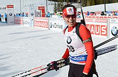 MS30. Canmore (Canada), 05/02/2016.- Julia Ransom of Canada, who was 19th, was top Canadian in the Women's 7.5 km biathlon sprint event at the World Cup Biathlon in Canmore, Alberta, Canada, 05 February 2016. EFE/EPA/MIKE STURK