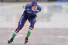 MOS. Kolomna (Russian Federation), 13/02/2016.- Sven Kramer of Netherlands competes in the Men's 5000m race during the ISU World Single Distances Speed Skating Championships 2016 at the Kometa Stadium in Kolomna, Russia, 13 February 2016. Kramer won the Golden medal. (Pau00c3u00adses Bajos; Holanda, Rusia) EFE/EPA/SERGEI ILNITSKY