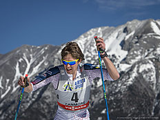 CANMORE, CANADA � MARCH 11: Scott Patterson (USA) during Cross Country Men 15.0 km Individual Free on March 11, 2016 in Canmore, Canada .