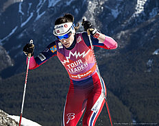 CANMORE, CANADA � March 11: Heidi Weng (NOR) during Cross Country Ladies 10.0 km Individual Free on March 11, 2016 in Canmore, Canada .