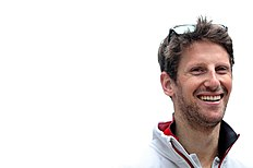 SOCHI, RUSSIA — APRIL 29: Romain Grosjean of France and Haas F1 in the Paddock during practice for the Formula One Grand Prix of Russia at Sochi Autodrom on April 29, 2016 in Sochi, Russia. (Photo by Mark Thompson/Getty Images)