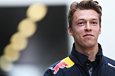 SOCHI, RUSSIA — APRIL 29: Daniil Kvyat of Russia and Red Bull Racing in the Paddock during practice for the Formula One Grand Prix of Russia at Sochi Autodrom on April 29, 2016 in Sochi, Russia. (Photo by Mark Thompson/Getty Images)