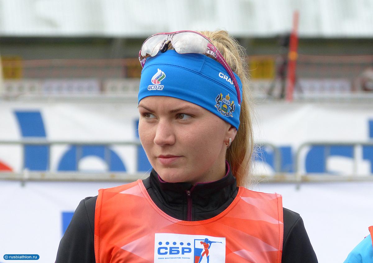 фото биатлонистка виктория сливко