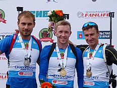 Результаты гонок юниорского первенства России по биатлону в Увате