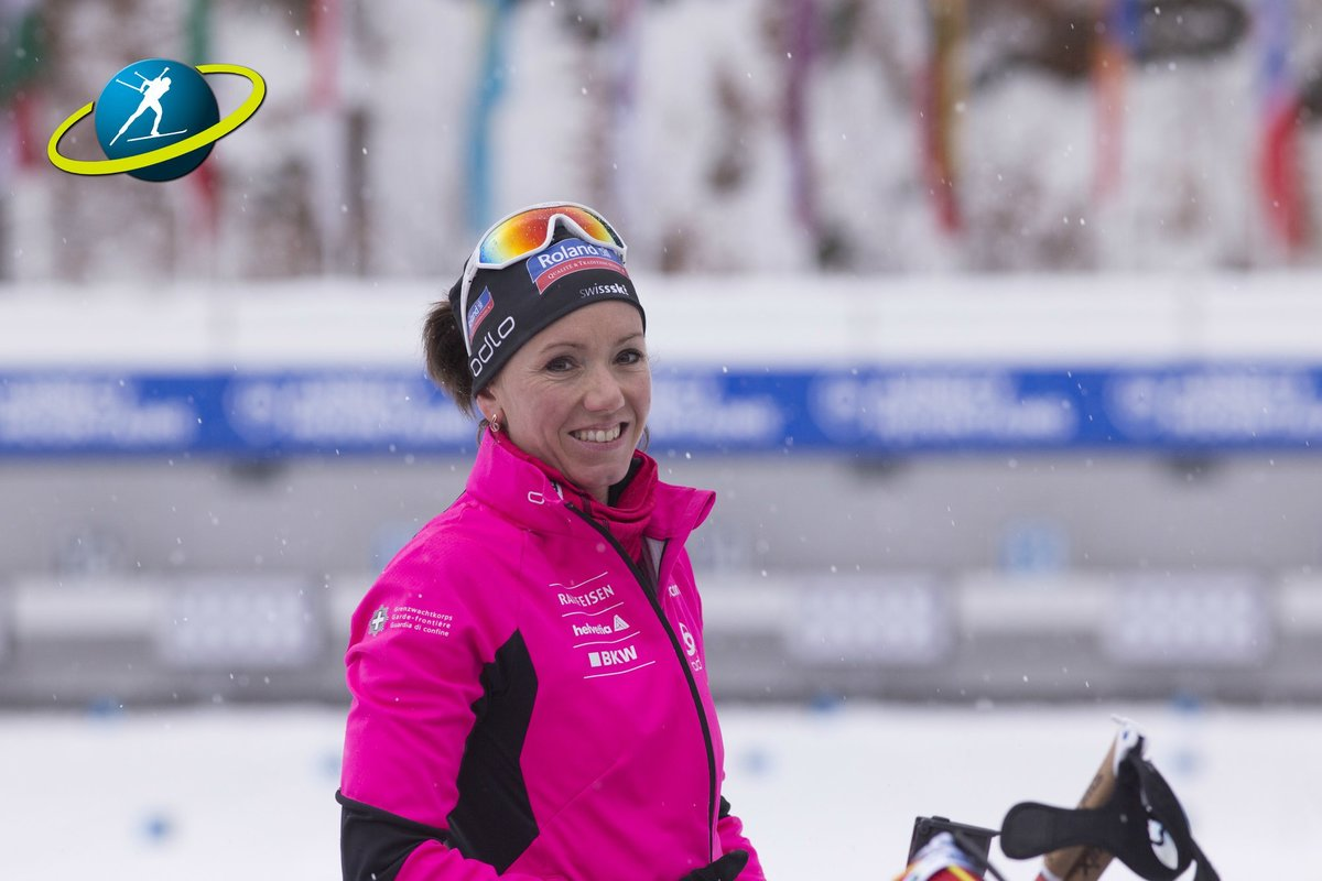 The whole #biathlonfamily sends the best wishes and warmest congratulations to Selina Gasparin and her husband Ilia Chernousov for the great news that they are expecting a second child ?