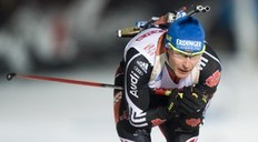 Andreas Birnbacher of Germany competes in the men's Biathlon 20km individual race on December 2, 2010 in Oestersund, Sweden. Bauer took the 12th place.