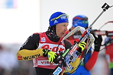Second-place Winner Andreas Birnbacher Of Germany Competes