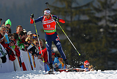 Tim Burke Of USA Competes