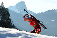 Tora Berger Of Norway Competes