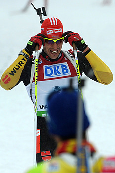 Germany's Arnd Peiffer Romoves