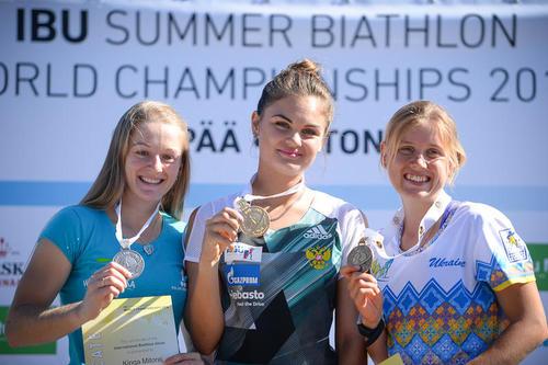 Псковская спортсменка Ольга Калина стала 23-й наЧемпионате мира полетнему биатлону