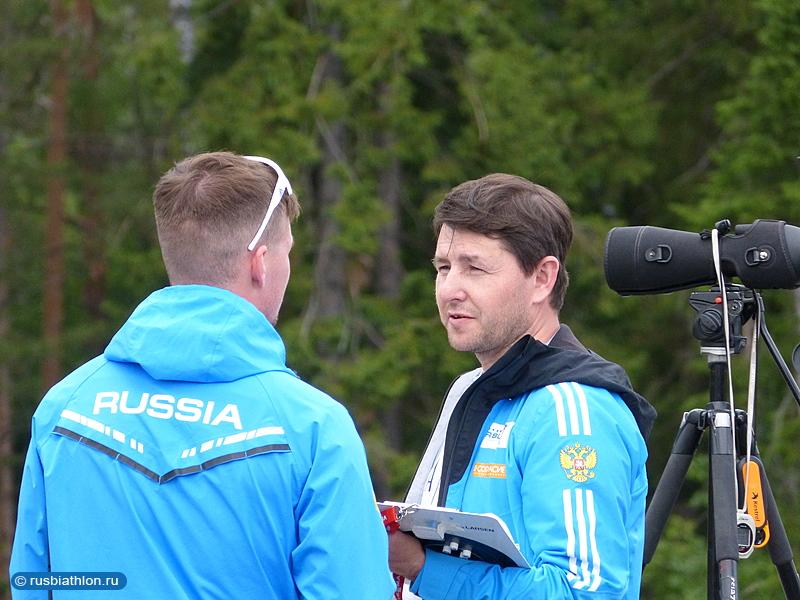 Тренеры мужской сборной Артем Истомин и Максим Максимов