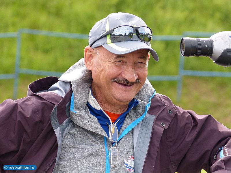 главный тренер сборной России по биатлону и старший тренер мужской команды Анатолий Хованцев