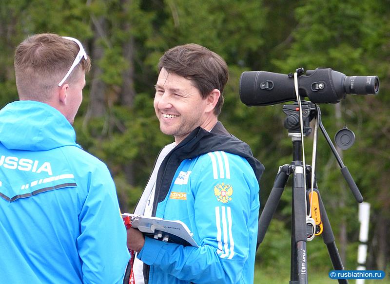 тренер сборной России по биатлону Максим Максимов