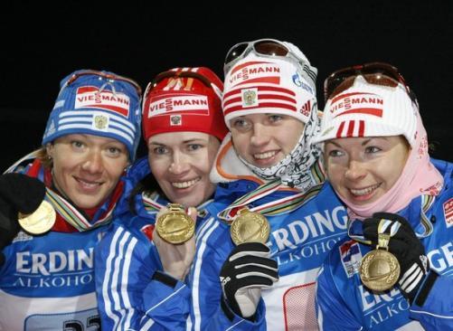Сборная россии по биатлону – чемпион