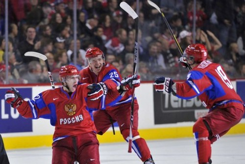 Хоккей канада дождалась россию