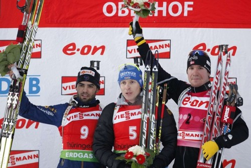 Winter sports events in ruhpolding