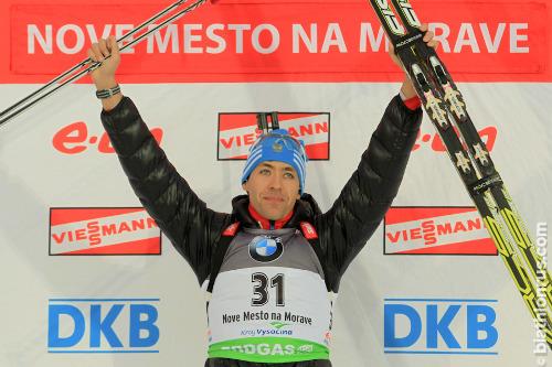 Бронзовый призер ванкувера-2010 в биатлон олимпийские игры серебро сочи 2014 смешанная эстафета чемпионаты мира