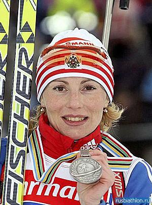 Альбина Ахатова: биатлонист